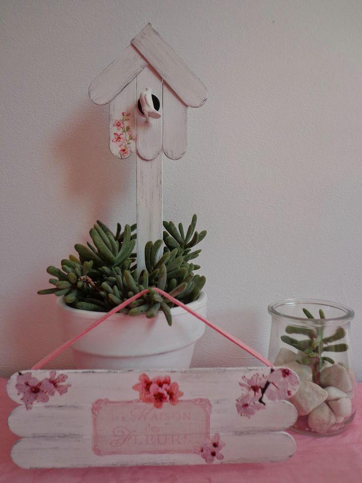 Entre anhelos y caprichos: Jugando a decorar con palitos de helado