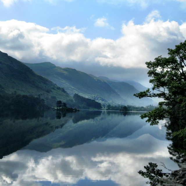 Ullswater lake, Lake District, England The setting for the hiding of the dragon egg.