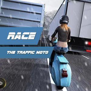 Race the Traffic Moto, Game Balapan Motor dengan Konsep Unik
