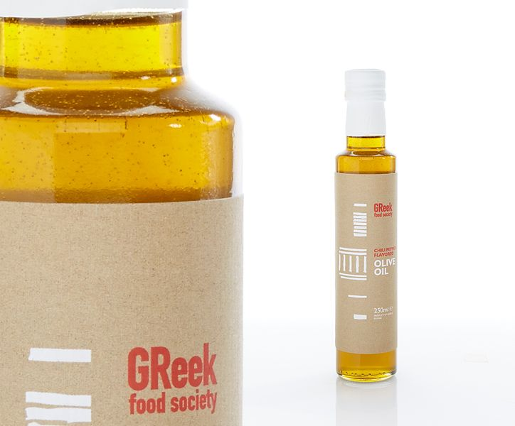 Greek Food Society  Chili Flavored Olive Oil