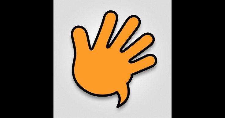 SignitForward (40 kr) - en lättanvänd app för att lära dig cirka 1500 tecknade vardagsord.  TAKK och Teckenspråk. Från Hatten Förlag AB #teckenspråk #takk #äppelhylla