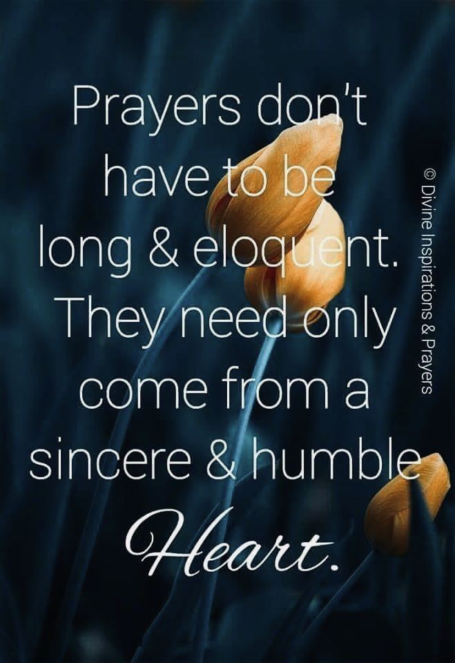 Just a humble and true heart | Prayer quotes, Spiritual ...