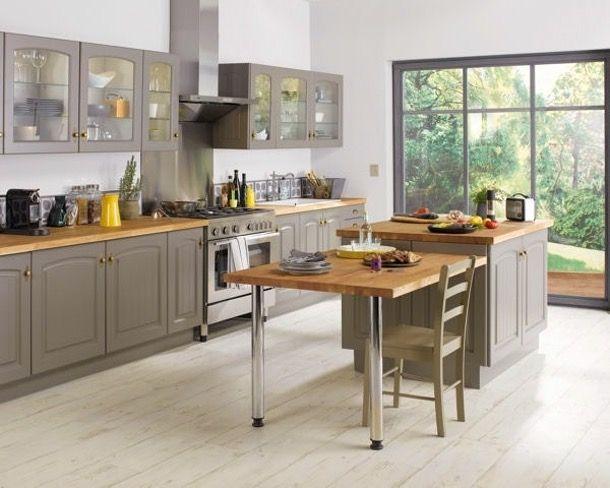 r sultat de recherche d 39 images pour cuisine style campagne chic cuisine equipee modeles. Black Bedroom Furniture Sets. Home Design Ideas