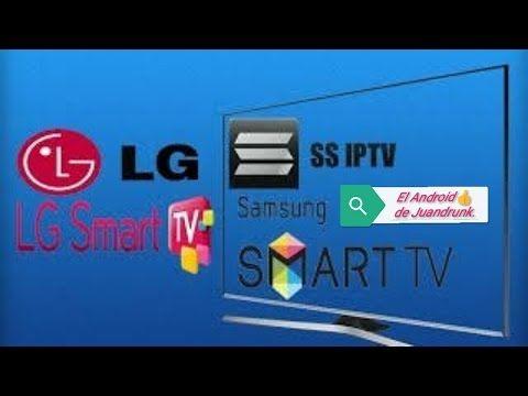 Aplicaciones Smart TV - SSIPTV para LG y Sony - YouTube