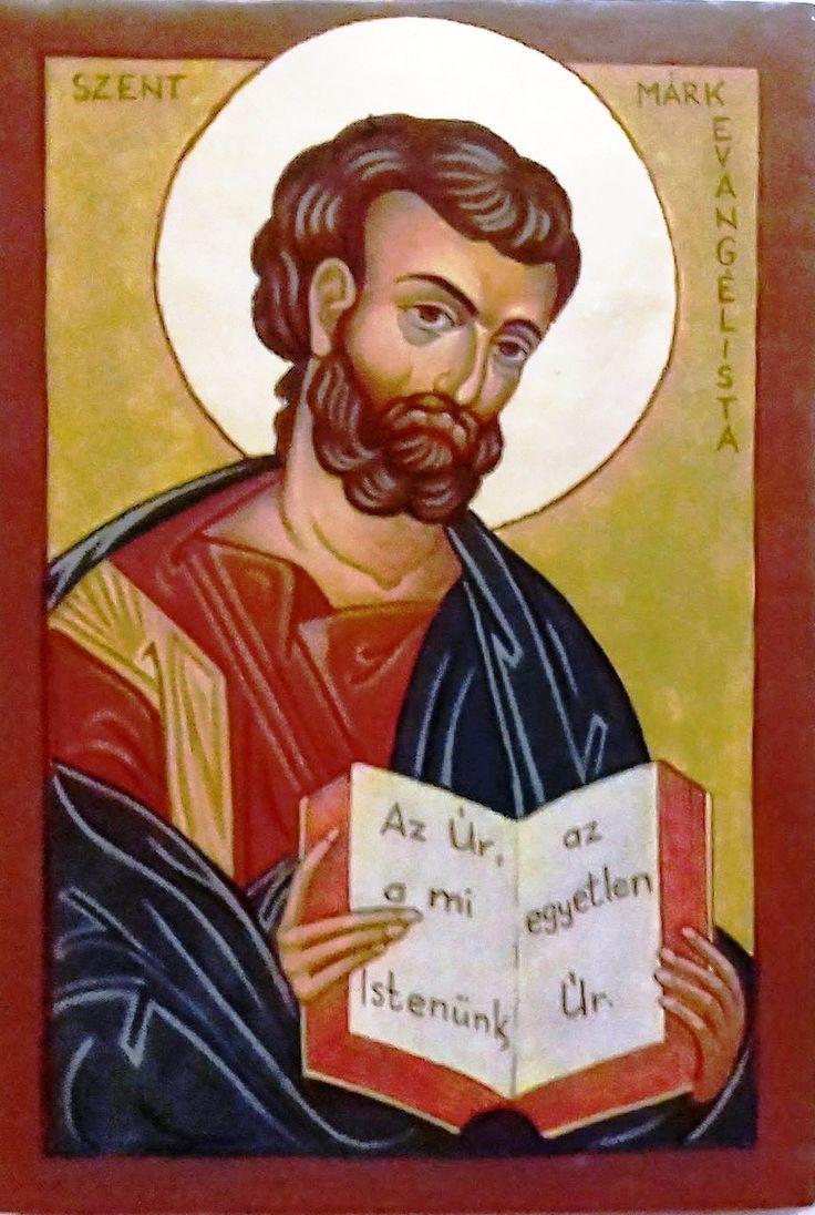 Szent  Márk  evangélista Görögországi ikon XIII. század