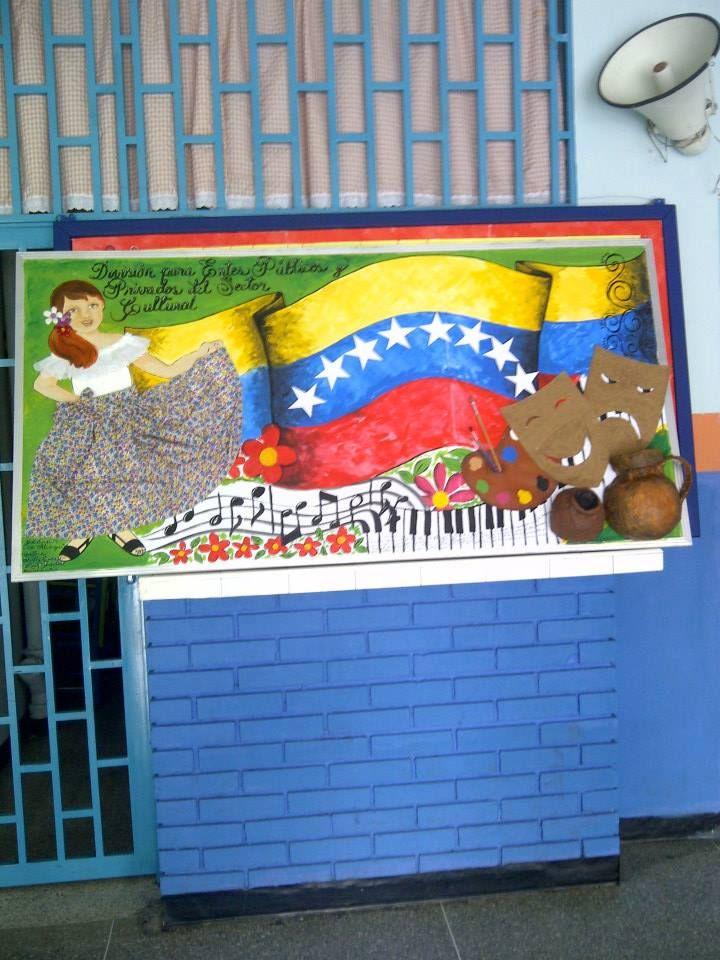 Cartelera cultural. Venezuela. Hecha por mí y colaboración de mi amiga Betty.