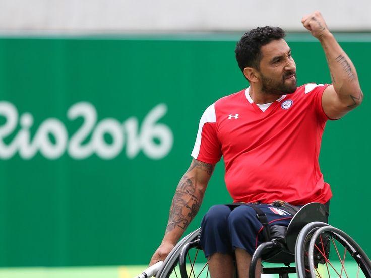 Tenista participante en los Juegos Paralímpicos de Río 2016
