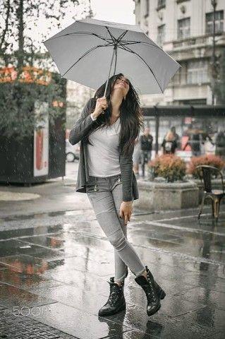 Порно девочка и зонтик