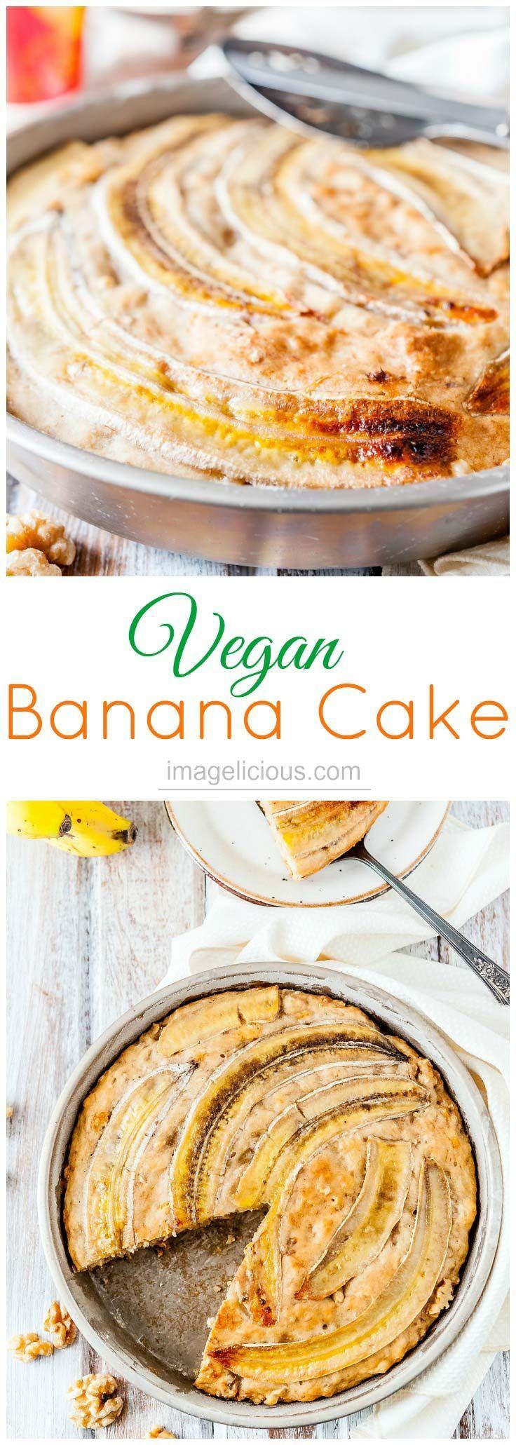banana | cake | quick bread | vegan | easy | fast | low-fat