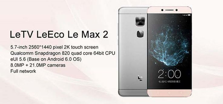 """Deze keer een #CouponCode voor de supersnelle 5.7"""" LeTV Leeco Le Max 2 Smartphone! 4GB geheugen + 64GB opslag. De  #Coupon geeft €38 extra korting op de Rose Gold versie. De andere kleuren kosten nu maar €183!  http://gadgetsfromchina.nl/5-7-2k-letv-leeco-le-max-2-4gb32gb-e183-coupon/  #Gadgets #gadget #Gadgetsfromchina #Gearbest #TinyDeal #Deal #offer #sale #coupon #couponcode #LETV #LEECO #Max #Smartphone #android #Helio #android #flagship #2k #display"""