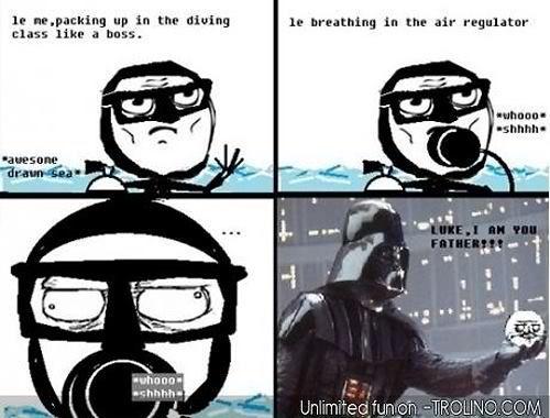 scuba diving phantom comic strips funny things funny stuff memes html ...