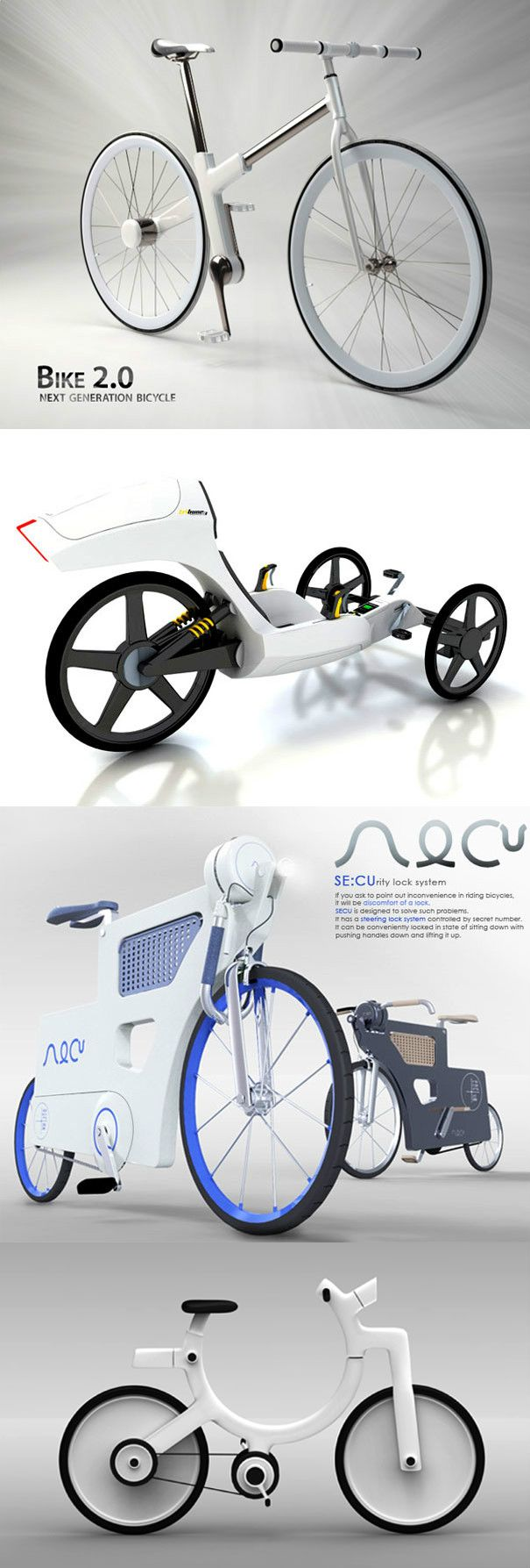 15 AMAZING BICYCLES FOR THE FUTURE OF SEOUL | READ FULL STORY AT YANKO DESIGN