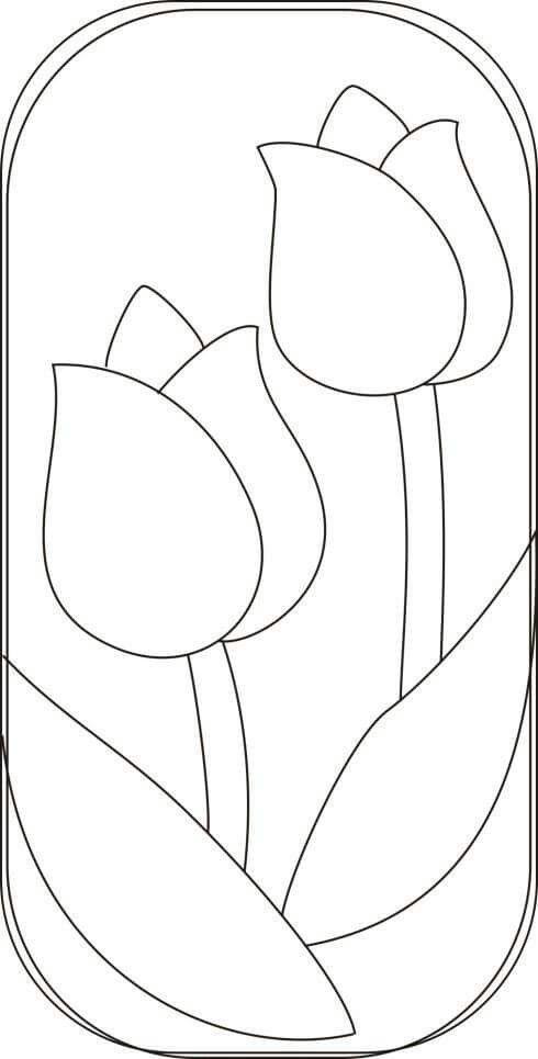 Dibujo Funda Gafas Riscos Para Patchwork Patchwork E Molde Para