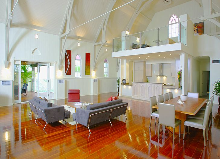 Before And After: Brisbane Church Becomes Beautiful Pitched Roof Home
