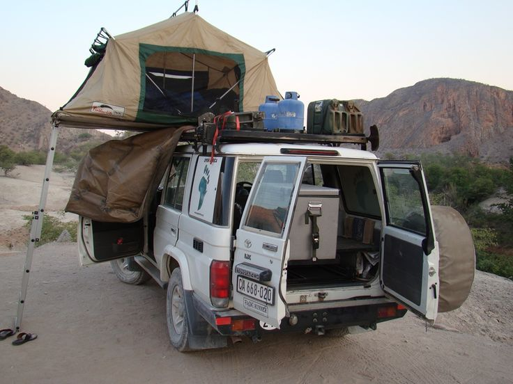 Camping in Namibia. Visit www.openafrica.org for information on self-drive travel routes in Namibia.