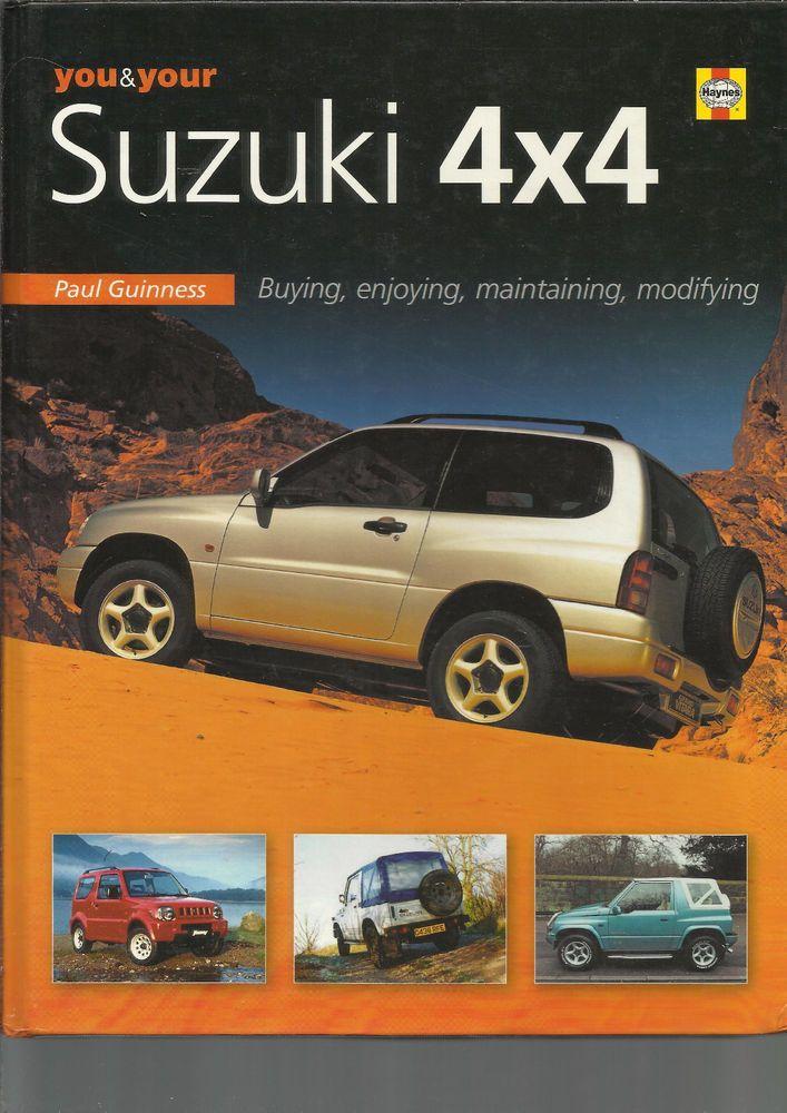 Haynes You Your Suzuki 4x4 Lj80 Grand Vitara Santana Samurai