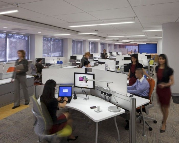 Unilever office in new jersey the design team developed for Design office environment
