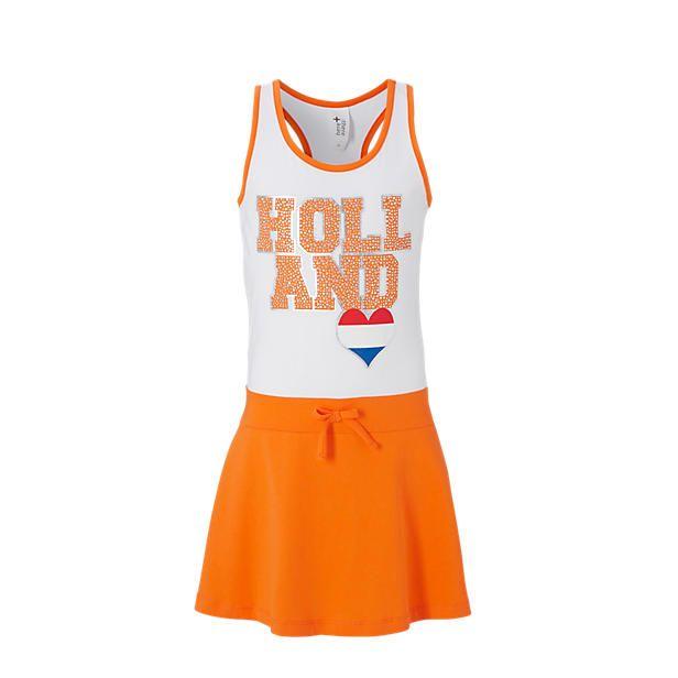 C&A jurk oranje nederland holland