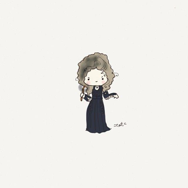 Bellatrix Lestrange. #harrypotter