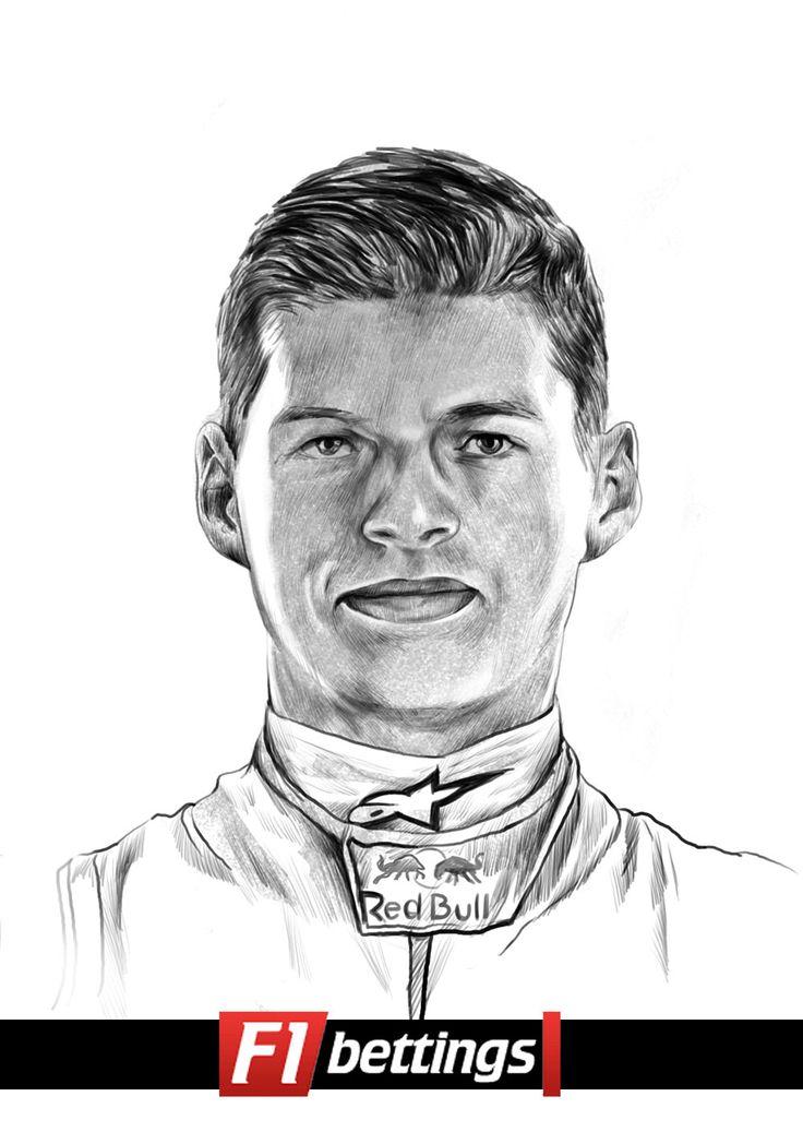 F1 driver Max Verstappen f1-bettings.com