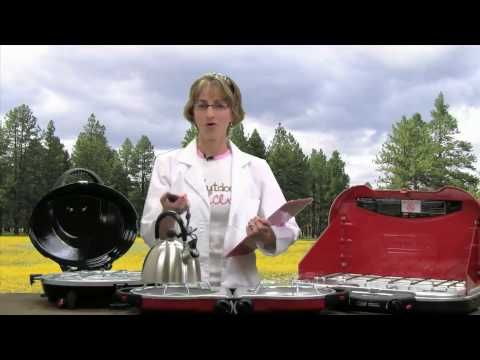 Kim Eldredge, The Outdoor Princess of EatStayPlay.com tests 3 Coleman camp stoves: Coleman Perfect Flow, Coleman Fold and Go, and Coleman Max.  source   ...Read More