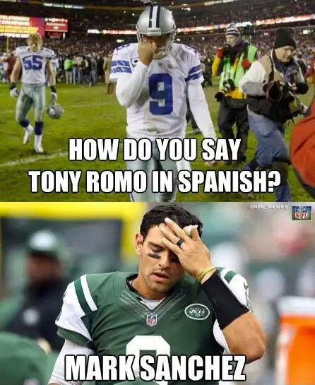 Tony romo in Spanish