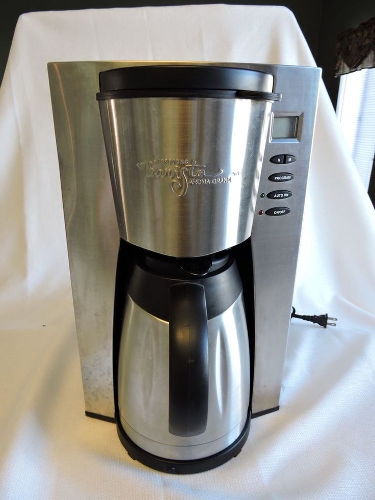 Barista Aroma Coffee Maker Instructions : 28 best images about Kitchen on Pinterest Can opener, Space age and Tea kettles