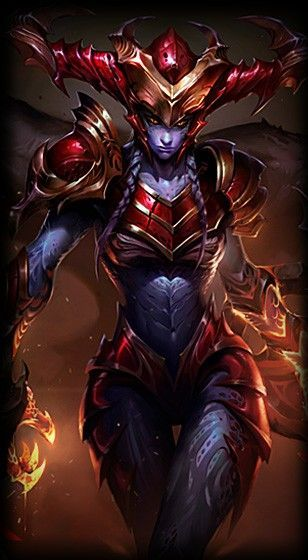 League of Legends- Shyvana, the half-dragon So awesome :3