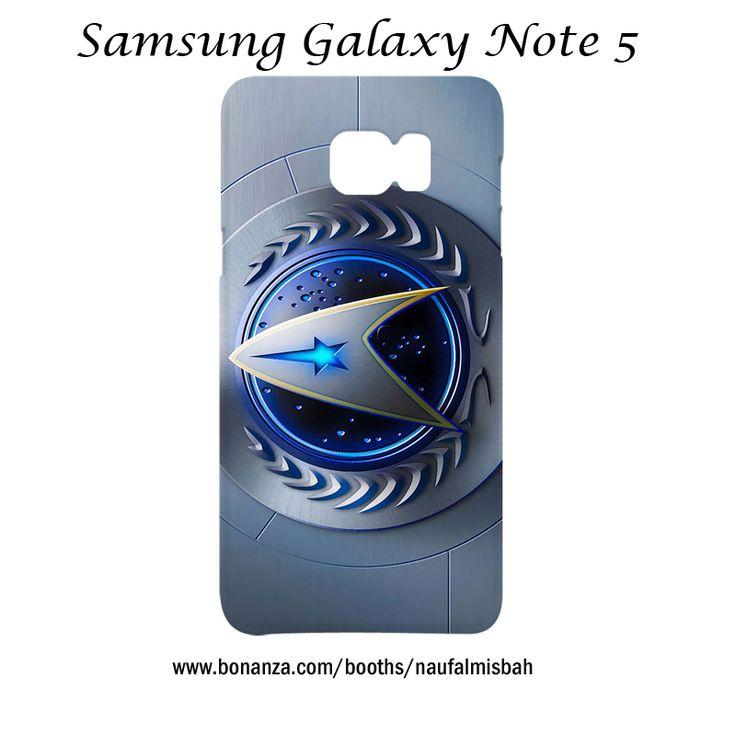 Star Trek Starfleet Command Logo Samsung Galaxy Note 5 Case Cover Wrap Around