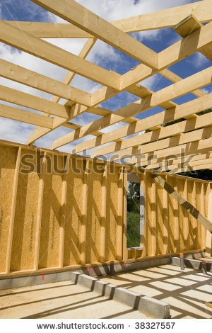 Stock Images similar to ID 67144906 - house construction in the...