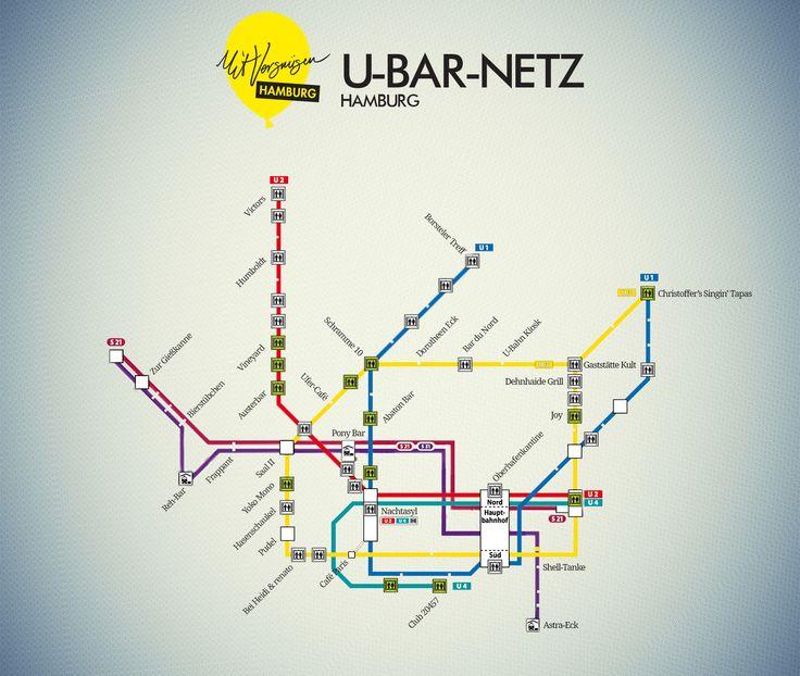 U-BAR NETZ HAMBURG #bar #hh #Hamburg #EuropaPassage #EuropaPassageHamburg