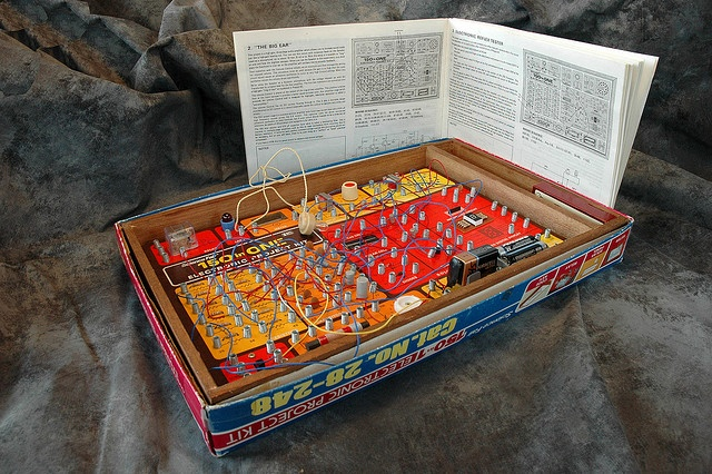 150 in One Electronic Project Kit...I hated this toy.  Couldn't do a damn thing with it but make a tiny light flicker.
