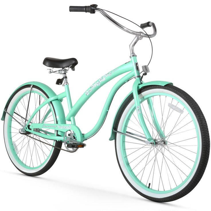 "26"" Firmstrong Bella Classic Three Speed Women's Beach Cruiser Bicycle, Mint"