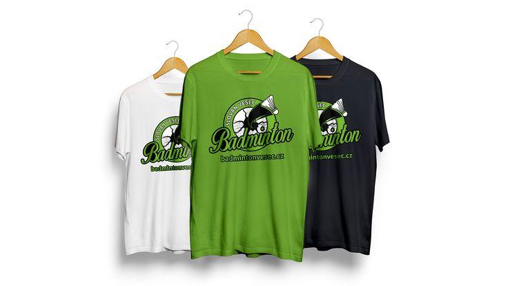 Limitovaná edice triček pro tým TJ SLOVAN VESEC BADMINTON