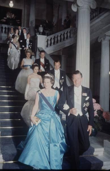 Ortrud e Ernest-August di Hannover, lui è il fratello della regina Frederika, sono i genitori dell'attuale Ernest-August marito della principessa Carolina di Monaco