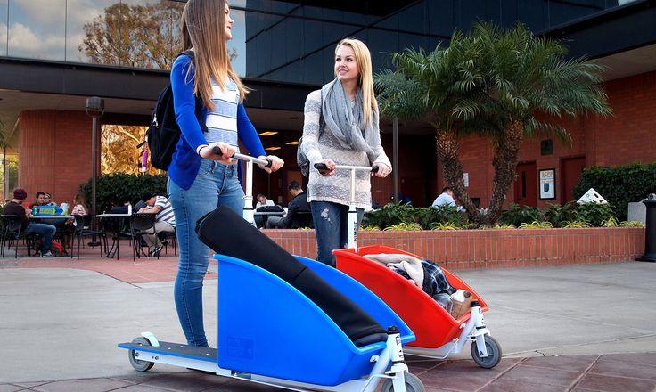 SideKick-Scooter: Kick Scooter oder Tretroller sind nicht länger nur Kinderspielzeuge. Sie sind blitzschnelle Transportmittel für die kurze Strecke.
