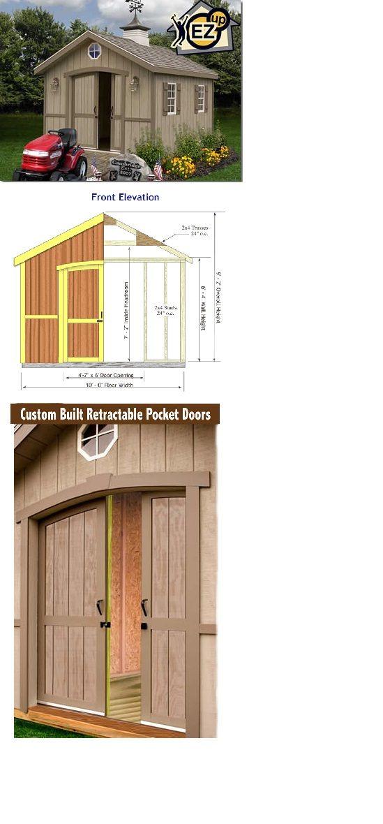 Mejores 246 imágenes de Best Barn Kits en Pinterest   Cobertizos de ...