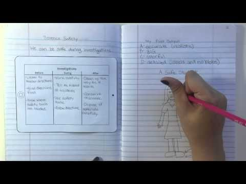 This video explains how I teach students to do quality work in their notebooks on our very first day! Learn more on The Science Penguin: http://thesciencepen...