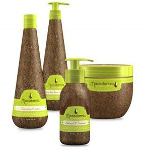natural hair products | ... using Flat Iron Experts ' Macadamia Natural Oil hair care products