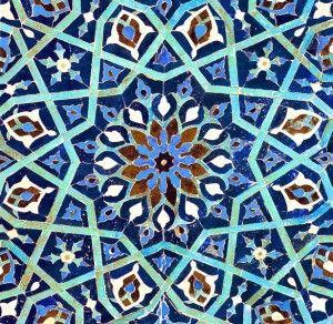 Blue Tile - Ann Chandler Design