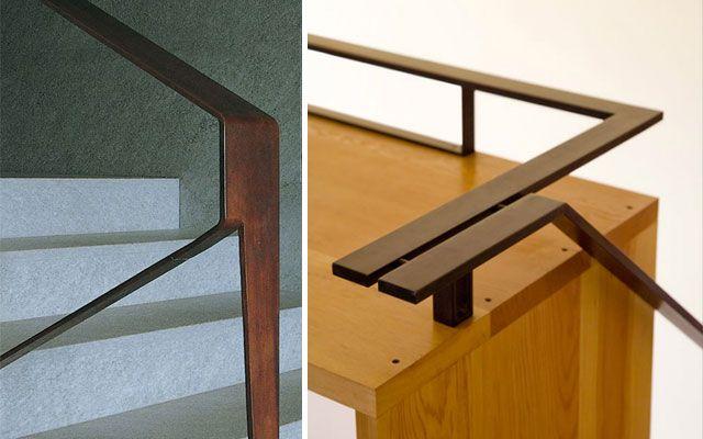 Las 25 mejores ideas sobre barandas para escaleras en - Pasamanos de madera modernos ...