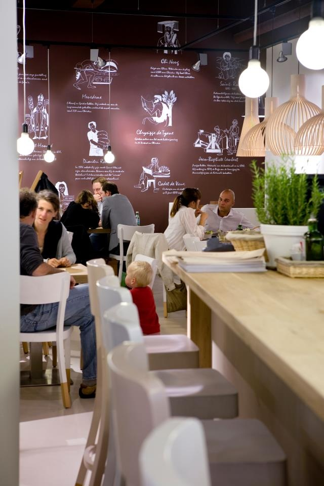 Vlaamsch Broodhuys, Rotterdam, Netherlands #restaurant #design