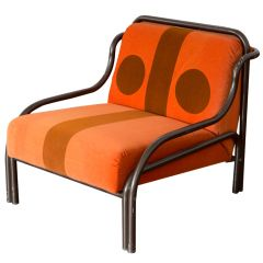 """Means"""" armchair by Gae Aulenti for Poltronova 