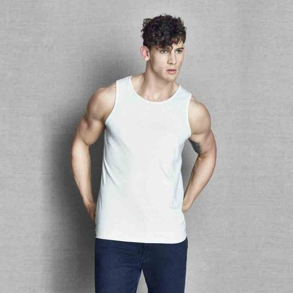 Promote your brand in the market with this custom printed promotional men's timmy tank T available at My Promotions Australia. It is made from 100% cotton for guaranteed comfort. #MensTimmyTankT #promotionalgiveaways #promotionalclothing #promotionalapparel