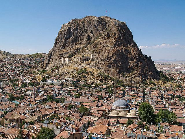 Afyonkarahisar, Turkey.  http://www.lonelyplanet.com/turkey