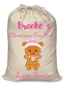 Christmas Eve Sack: Amazon.co.uk: Kitchen & Home