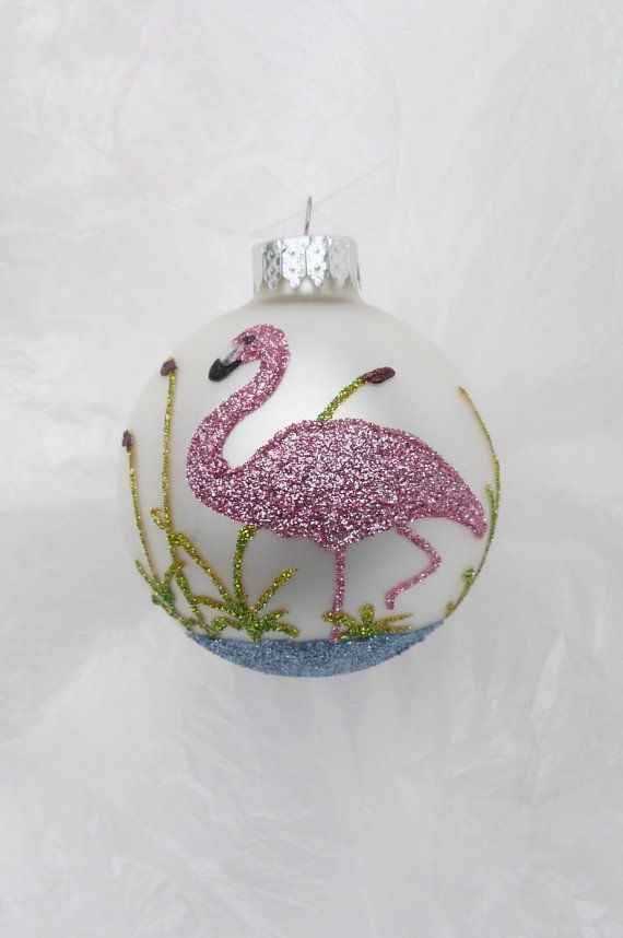 22 best images about pink flamingo christmas ornaments on pinterest