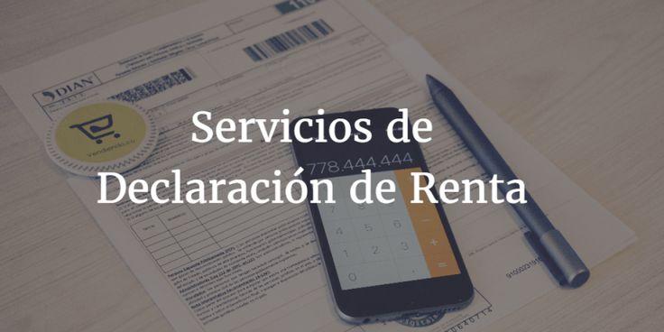 Servicio de Declaración de Renta 2017 para Personas Naturales :https://vendiendo.co/blogs/servicios-declaracion-de-renta-2017-naturales/