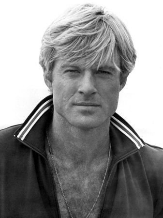 Robert Redford in his younger (and more dangerously handsome) days...from the Robert Redford Gallery...