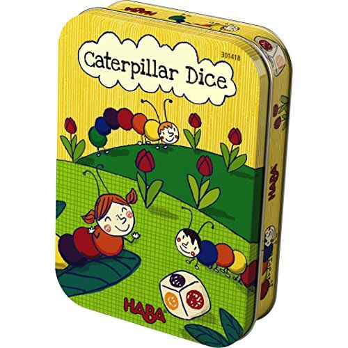 Floor Games - HABA Caterpillar Dice  A Simple Travel Game in Storage Tin -- You can get additional details at the image link.
